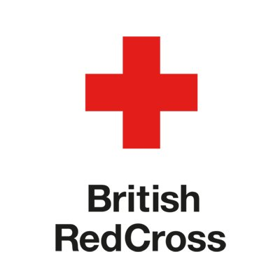 The British Red Cross charity is also helping refugees
