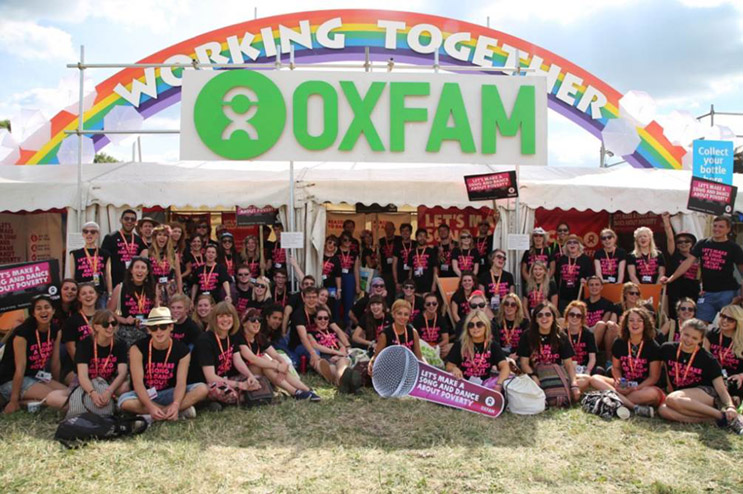 Oxfam's vision is to have a fair country
